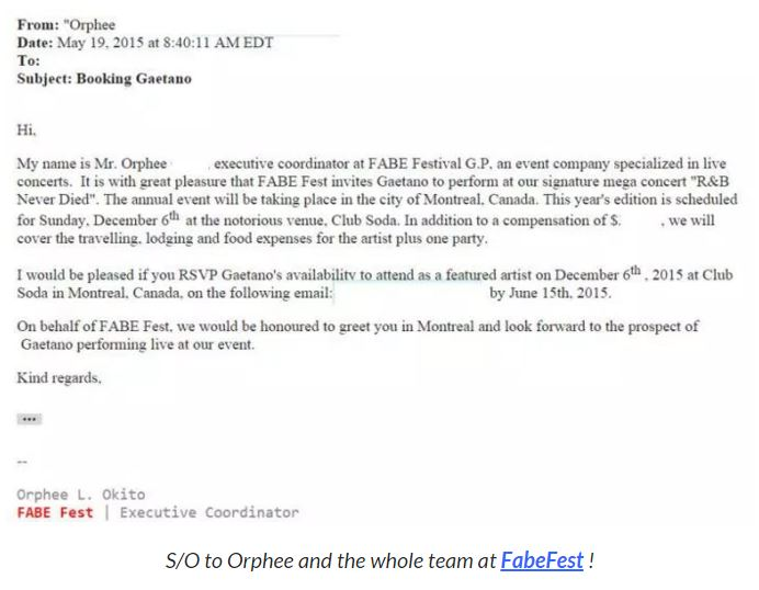 Orphee Email