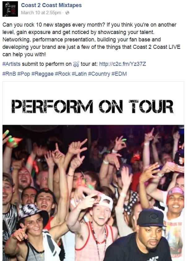 Perform On Tour