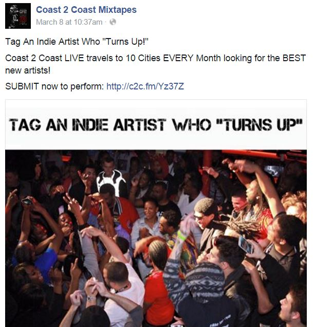 turn up c2c